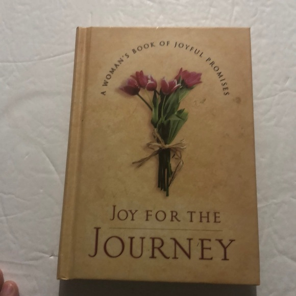 Joy for the Journey hardcover book